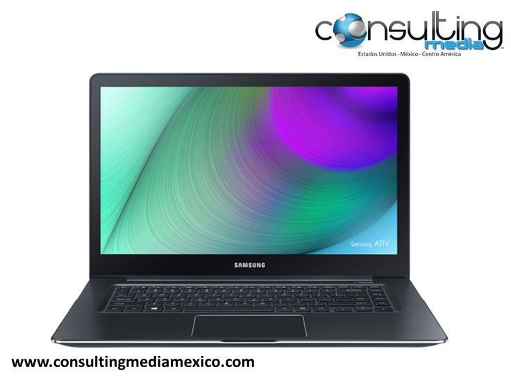 LA MEJOR AGENCIA DIGITAL. Samsung ha actualizado sus laptops, con el modelo ATIV Book 9 Pro. Lo fascinante de este nuevo diseño, es que es la primera laptop con pantalla 4K (3.840x2.160 píxeles). Además, cuenta con un panel de 15,6 pulgadas, con el que podemos interactuar de forma táctil. #miguelbaigts