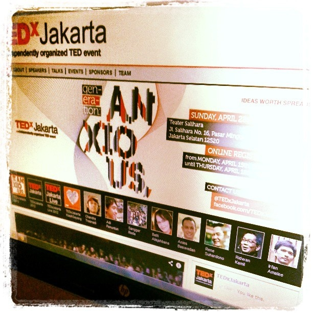 Instagram photo by @tedxjakarta (tedxjakarta) | Statigram