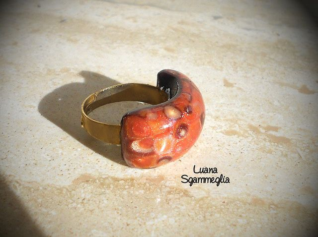 Ring - Polymer clay