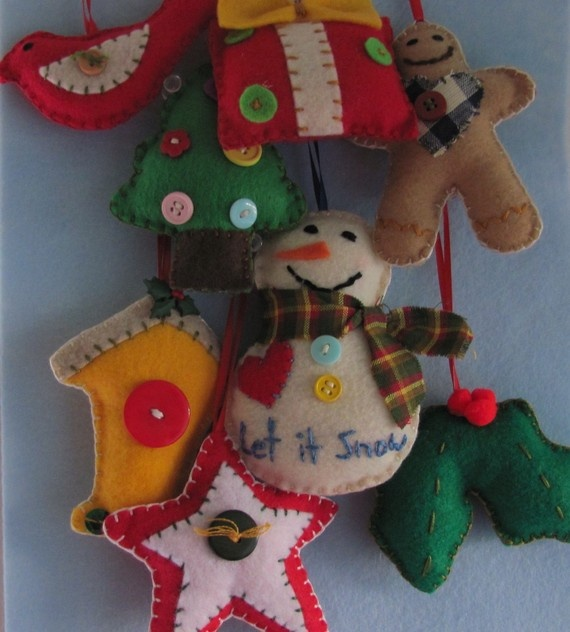377 best felt images on pinterest christmas ideas christmas felt ornaments by gtcottagecrafts on etsy ornaments ideasfelt solutioingenieria Choice Image