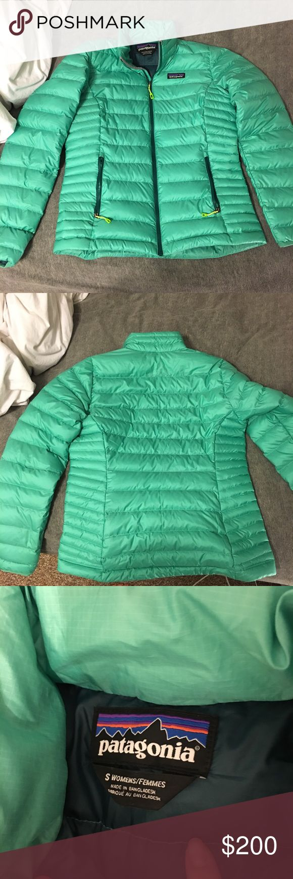 Patagonia Down Sweater jacket patagonia aqua jacket new without tags Patagonia Jackets & Coats Puffers