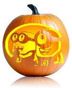 http://ultimate-pumpkin-stencils.com/2010/despicable-me-pumpkin-stencil   Minion pumpkin stencil