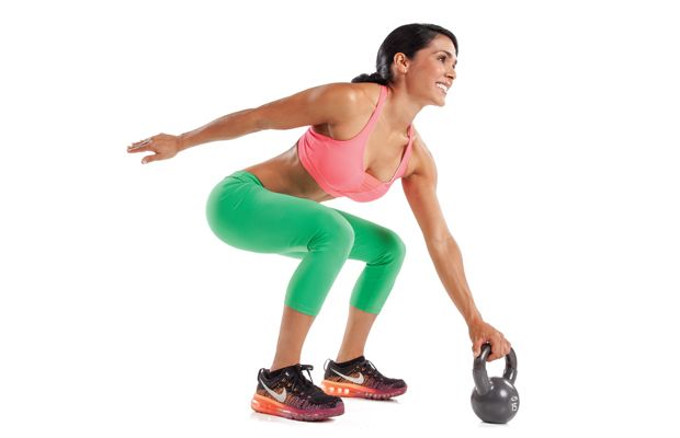 This kick-ass kettlebell program packs endurance, strength and fat burning into one intense 20-minute routine.
