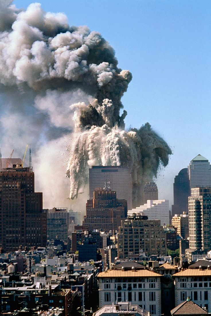 September 11, 2001, World Trade Towers, Manhattan, New York. This terrorist attack brought about the death of approximately 3,000 men, women and children from nations around the world.