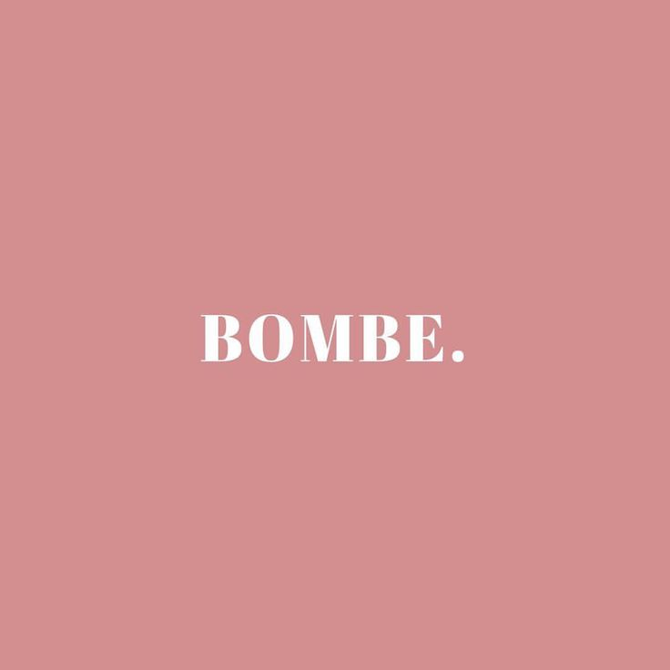Hum... BOMBE. Ça veut bien dire ce que ça veut dire. • #FrenchiesDoItBetter