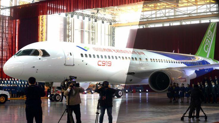 flygcforum.com ✈ COMAC C919 ✈ China's Comac C919 Edges Toward First Flight ✈