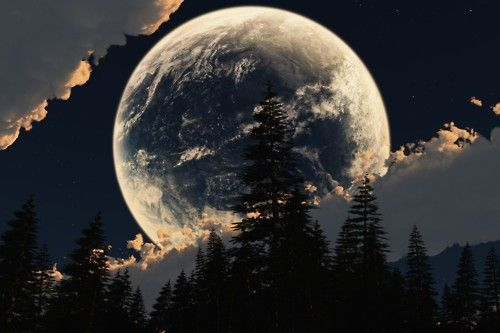 wow--really makes living on earth worth it.Amazing, Photos, Sky, Nature, Beautiful, Month, Full Moon, Moonlight, Photography