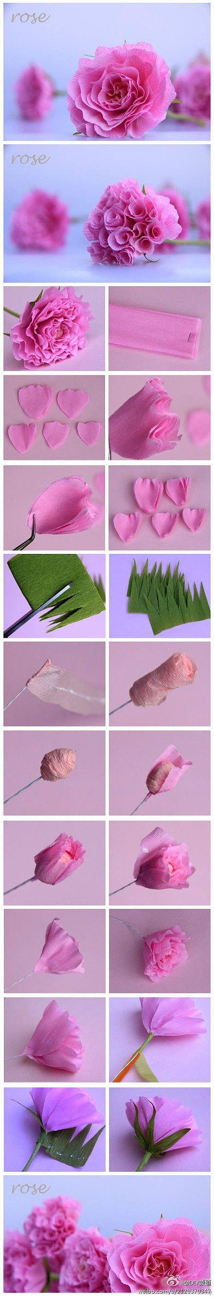 die besten 25 krepppapier ideen auf pinterest krepp papier handwerk krepppapierblumen und. Black Bedroom Furniture Sets. Home Design Ideas