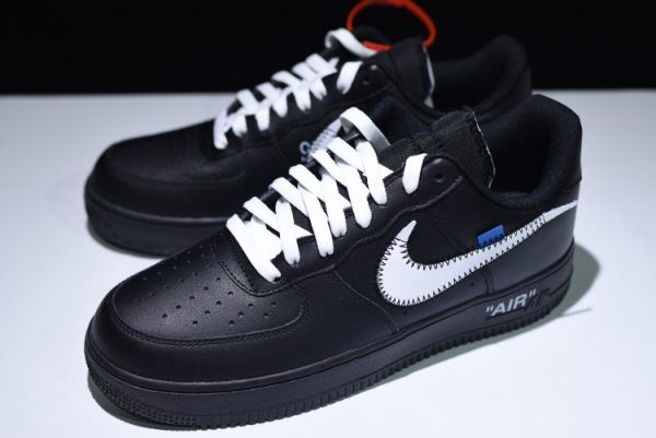 new arrival b698d 08598 2018 Off-White x Nike Air Force 1 '07 Black White AA5122-001 ...