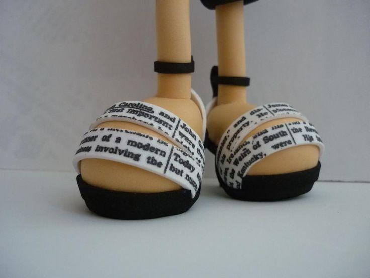 Sandálias de salto alto em EVA
