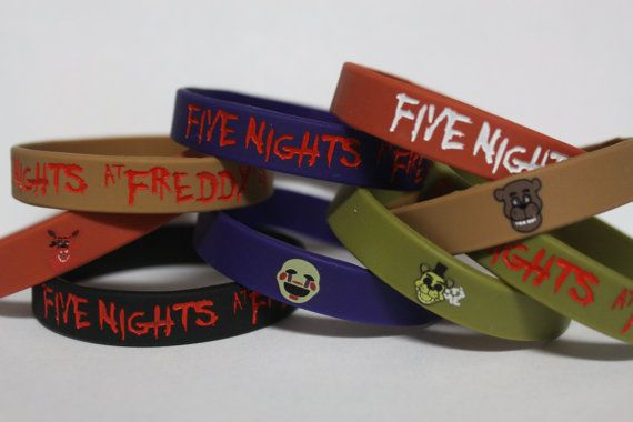 Hey, I found this really awesome Etsy listing at https://www.etsy.com/listing/226748952/fnaf-five-nights-at-freddys-silicone