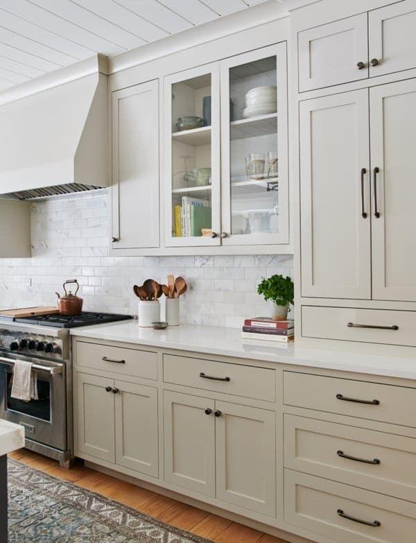 5 Current Kitchen Trends Now In 2021 Greige Kitchen Cabinets Kitchen Cabinet Design Top Kitchen Trends