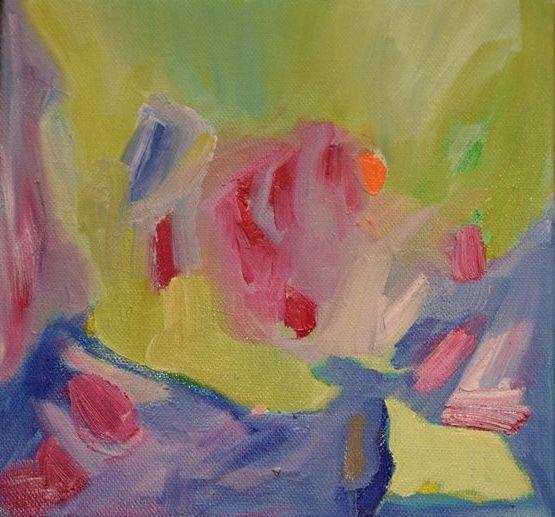 Peaceful Day Geraldine Gillingham Oil On Canvas 6x6