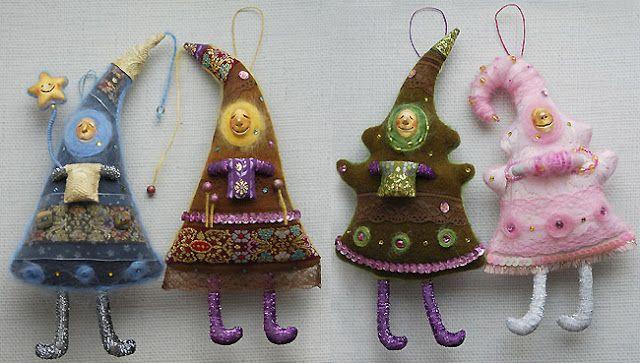 OYO... или мамские будни дизайнера: Елочные игрушки