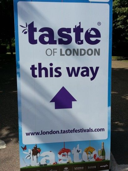 Taste of London, Day 4: And So It Begins