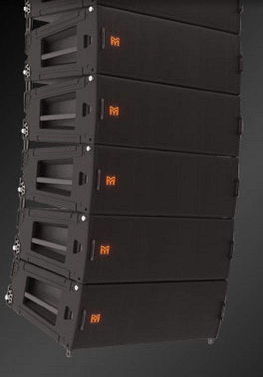Martin Audio London's Multi-Cellular Line Array (MLA) system. If ever I need a line-array system, I'm going to go for these. The demo at Infocomm 2014 was absolutely fantastic.  http://www.martin-audio.com/mla/index.asp
