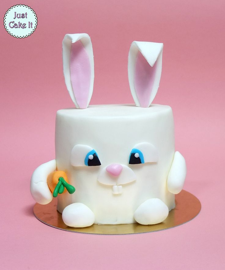 Snowball bunny cake from the secret life of pets movie. Tutorial here https://www.youtube.com/watch?v=Q_vCFkGsNHQ
