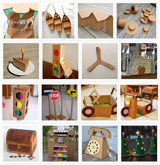 52 Cardboard Craft Projects Eco Explorations Cardboard Crafts
