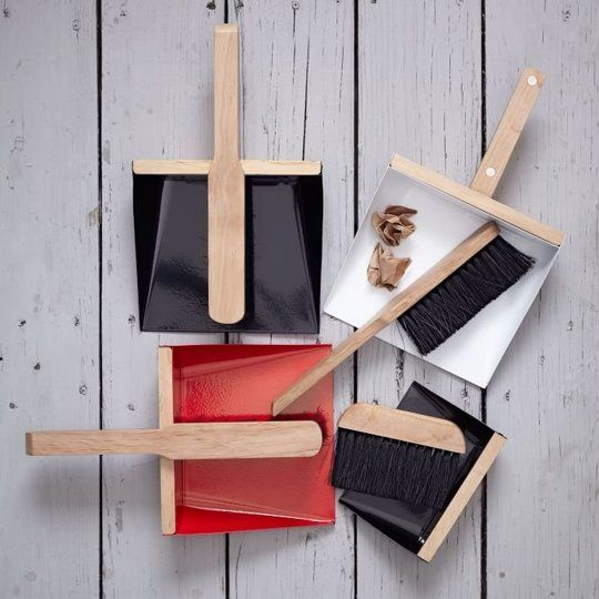 10 Modern Dustpan and Brush Sets That'll Make You Want to Sweep