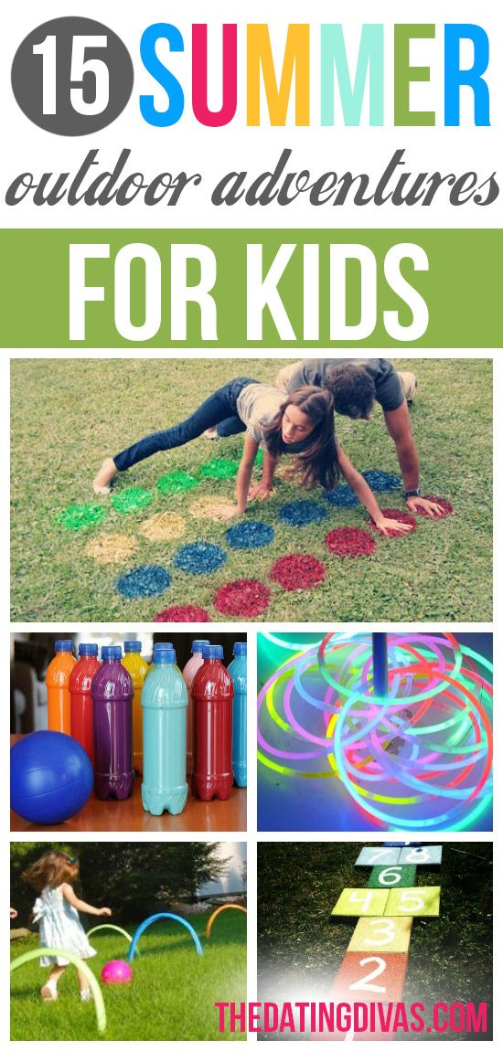 This awesome collection of summer boredom busters will keep your entire family entertained and happy during the sunshine months.