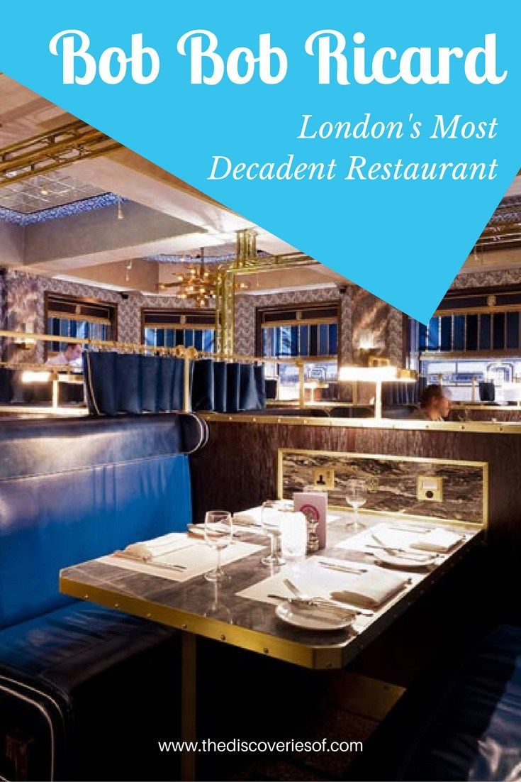 Bob Bob Ricard in Soho is one of London's Best Restaurants. Find out why.