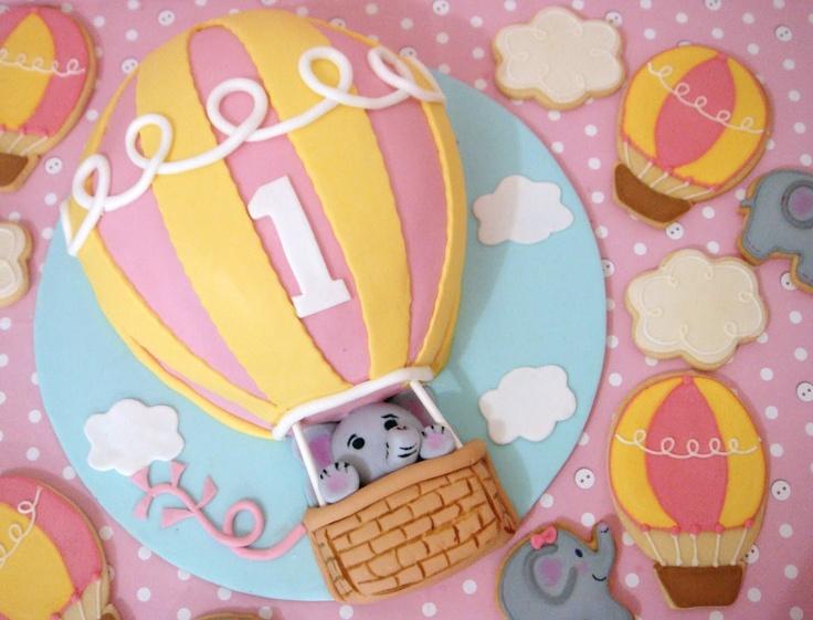 How to make a balloon birthday cake