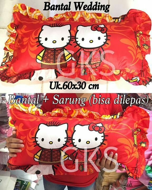 #bantal #wedding #hellokitty @ 85.000
