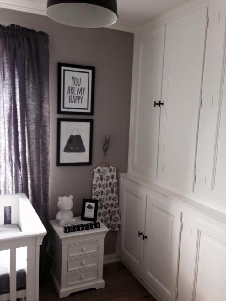 ☁️Black/white & grey nursery of our babyboy ☁️