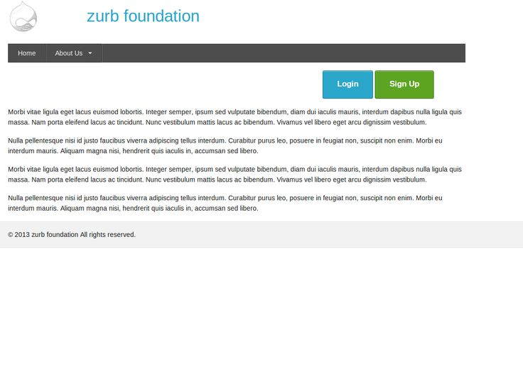 ZURB Foundation | Drupal.org