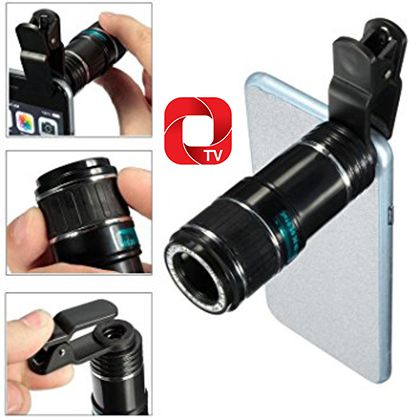 Mobile Camera Lens Portable and detachable, you can take photo with your devices at any time any where.And 4 x Camera len