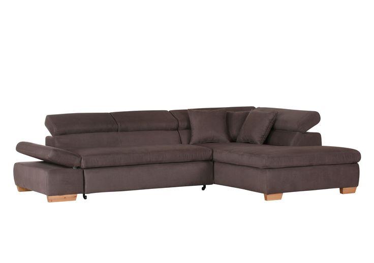 Das moderne Schlafsofa ist klassisch und zeitlos. Mit wenigen einfachen Handgriffen können Sie dieses Sofa zu einem Bett verwandeln. Die große Liegefläche von ca. 125 x 200 cm lädt zu gemütlichen Stunden ein. Die verstellbaren Rücken- und Armlehnen sind ein weiteres Highlight. Suchen Sie nicht weiter, greifen Sie zu. Wohnlandschaft braun (gemustert) 115-00272