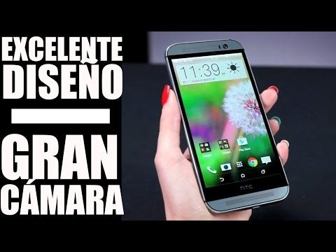 Celular HTC One M8, review en español - YouTube