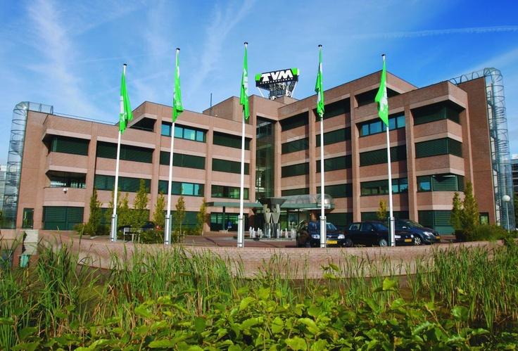 Het hoofdkantoor van TVM verzekeringen te Hoogeveen.