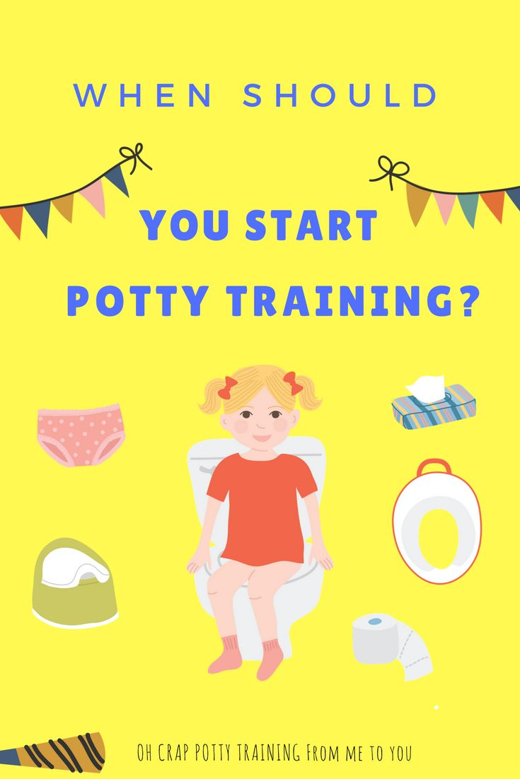 When Should You Start Potty Training | what's the best age for potty training | finding the magic window for potty training | Oh Crap Potty Training