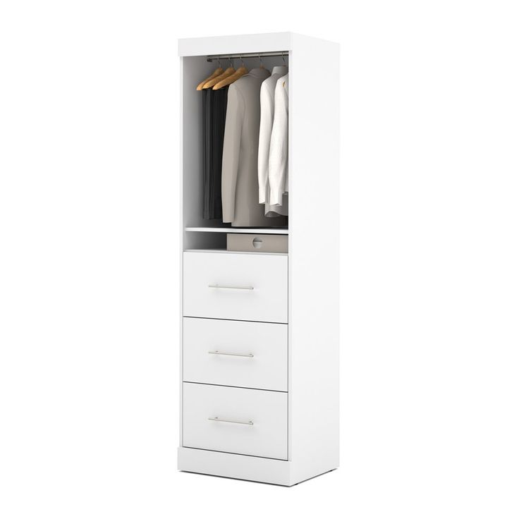 Shop Bestar  25871 Nebula by  25-in 1 Door/3 Drawer Storage Unit at ATG Stores. Browse our closet kits, all with free shipping and best price guaranteed.