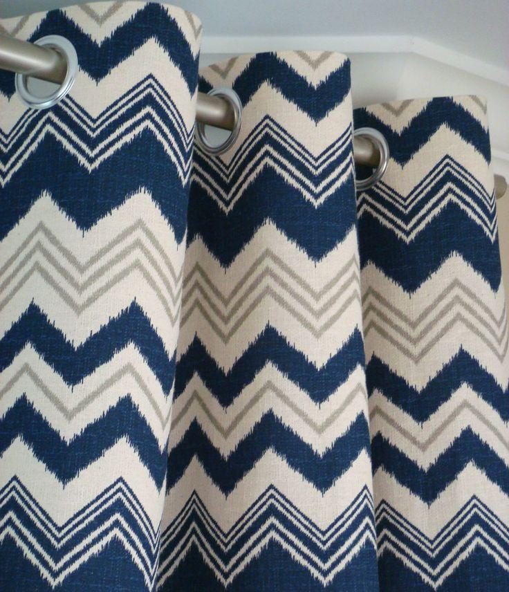 Best Zeldabelle Designs Navy Drapery Curtain Panels Images On