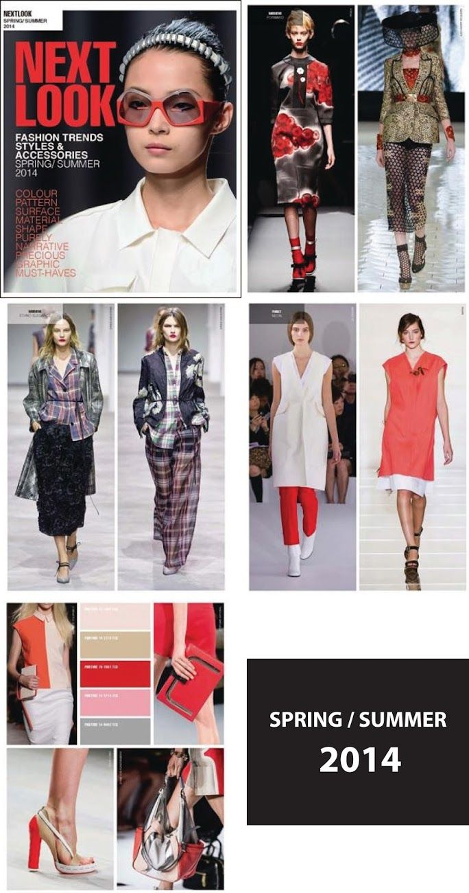 2014 trend fashion colore | Next Look Fashion Trends- Spring Summer 2014 | Nidhi Saxena's blog ...