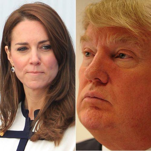 Donald Trump in visita alla Royal Family? Ecco perché l'ipotesi imbarazza tanto Kate Middleton