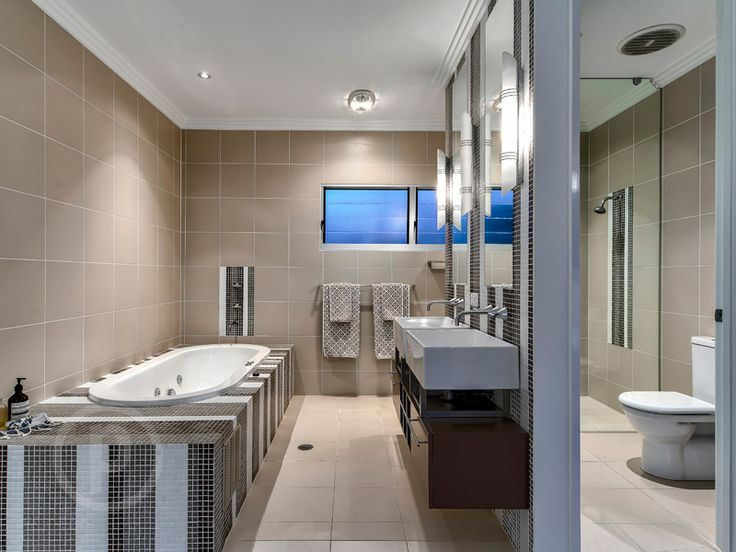 32 Davidson Street, Newmarket // Mario Sultana #bathroom #bathroominspiration #homeinspiration #neutral #tiles #sink #home #homedecor #brisbane #queensland #realestate #inspiration #homedecorate #realestate #realtor #brisbanerealestate #decorator #interiordesign #modern #crisp #light #open #space
