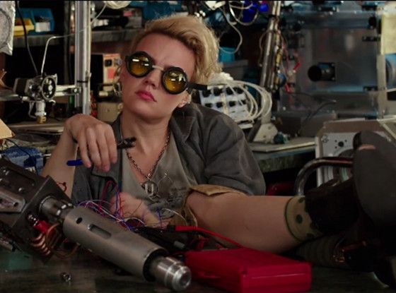Everyone Is Already Hopelessly Obsessed With Kate McKinnon's Ghostbusters Character | E! Online Mobile