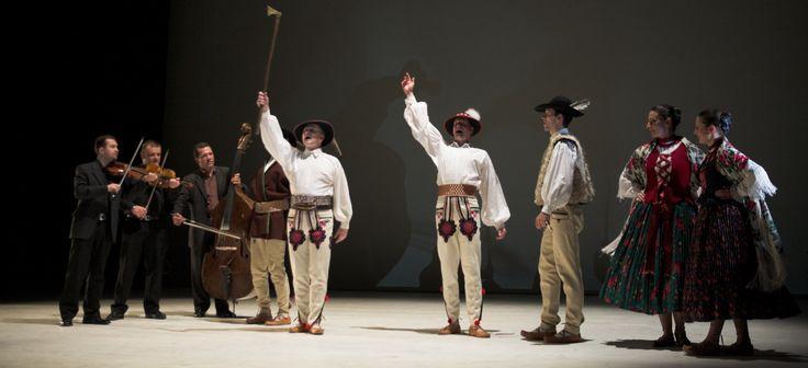 Authentic folk-dance show