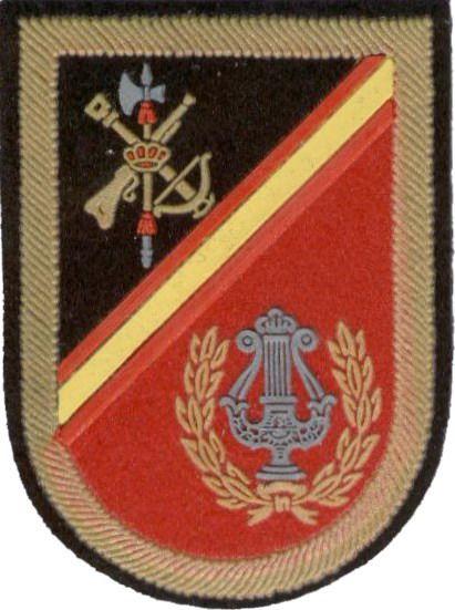 Unidad de Música de la Legión.  Parche de brazo