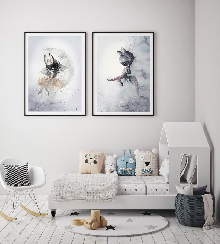 Shop online for Mrs Mighetto nursery art prints at Pop Motif.