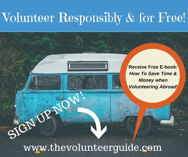 Learn How To Save Money and Time when looking to Volunteer Abroad www.thevolunteerguide.com