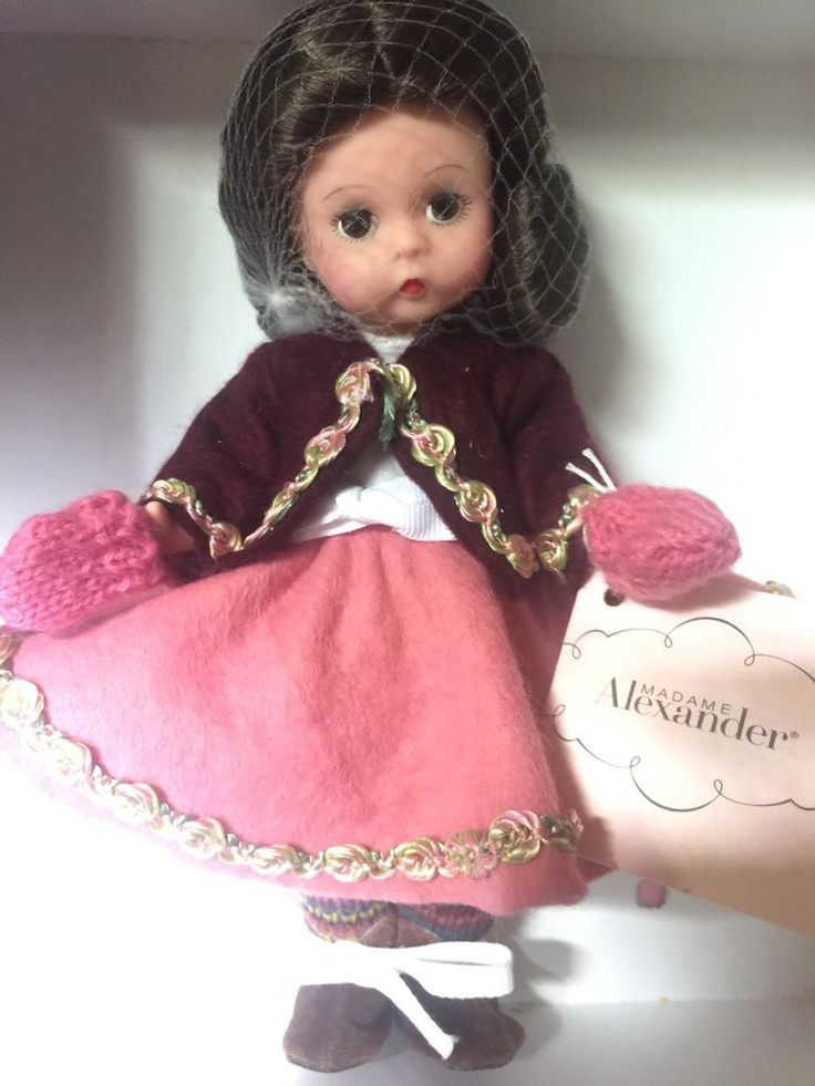 "RARE MADAME ALEXANDER 8"" ""WINTER FESTIVAL"" #35015 NRFB NEW Box Tag #MadameAlexander #DollswithClothingAccessories"