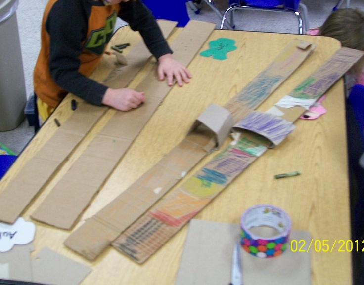 Make Your own skis and use them! Duct tape and cardboard.