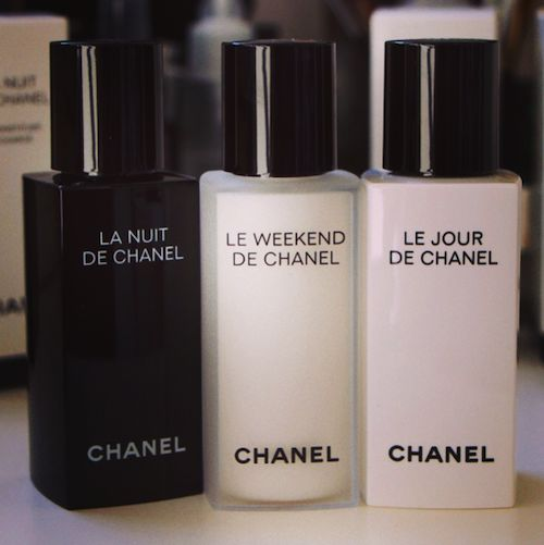 I was worried that the new serums from Chanel - Le Jour de Chanel, La Nuit de Chanel and Le Weekend de Chanel - would be un petit peu style-over-substance but I must say that I'm very, very pleasan...