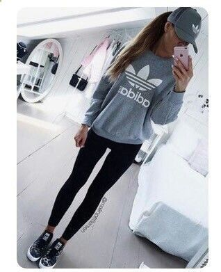 Clothes For Gym Tenue adidas amzn.to/2rgp9eG - The gym is one of the places where people can not care about their appearance and concentrate only on working their body to show it later. However there are items that help us exercise much more efficiently.