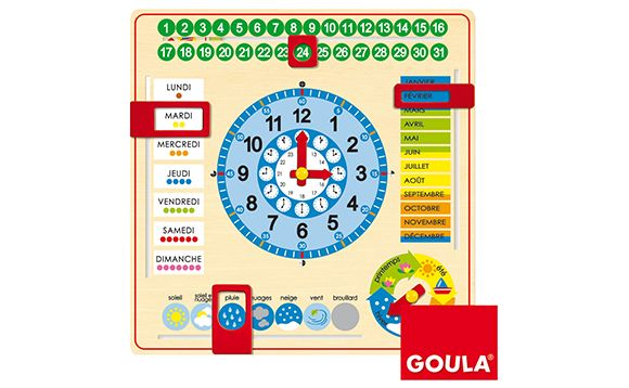Clock-calendar - Horloge-calendrier