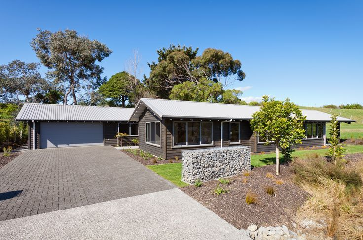 David Reid Homes 2013 Gold Award Winning Sustainable Home | Exterior cladding in band sawn sustainably milled macrocarpa.